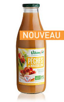 NECTAR DE PECHES  FRANCE 1 LITRE