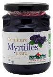 CONFITURE DE MYRTILLES 325gr