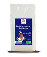 FARINE 5 CEREALES 1KG