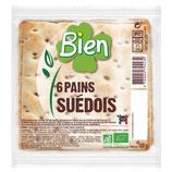 PAINS SUEDOIS 180gr le paquet de 6 tranches