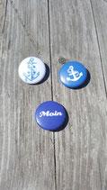 BS-002 maritimes Buttons Set Anker Anchor Sailor Schiff Ahoi Moin
