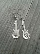 OR-030 Gitarren Rock`n`Roll Rockabella Rockabilly Ohrringe E Gitarre