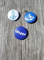 BS-003 maritimes Buttons Set Anker Anchor Sailor Löppt Norddeutsch Platt