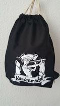 TB-002 Küstenmädel Turnbeutel Rucksack Sportbeutel Gymback Beutel Tasche Rockabilly