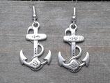OR-004 Anker Anchor Ohrringe maritim verziert Segeln Törn Geschenk maritimes Souvenir
