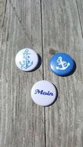 BS-005 maritimes Buttons Set Anker Anchor Sailor Schiff Ahoi Moin