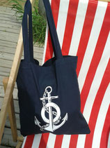 ST-004 Anker Glaube,Liebe,Hoffnung Ahoi-Rockabella Beutel navy Old School Tattoo