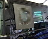 Lüftungsgitter für Original-Schiebefenster von VW
