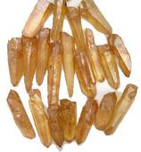 Pointe de quartz Lémurien