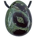 Pendentif pierre percée Jaspe Kambaba (sans cordon)