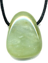 Pendentif pierre percée jade (sans cordon)