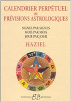Calendrier perpétuel prévisions astrolog. de Haziel
