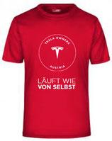 Tesla Club Laufshirt - Herren
