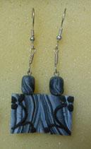 orecchini pendenti giapponesi