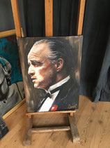The Godfather (don Corleone) 100x70x4