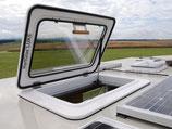 KCT Hartglas Dachluke 560 x 560 mm