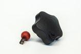 Sicherheitssterngriff (Sterngriff) abschließbar M10