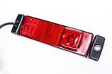 HELLA Positionsleuchte rot, 24V, LED li/re