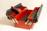 Robuster Werkzeugkasten mit 3 Fächern von Peddinghaus