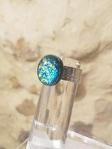 Petite bague variation bleu ou rose