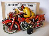 "Motorradfahrer "" Josef "" (Modell früher Tippco Nürnberg) Marke JW  -Made in Germany-"