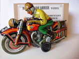 "Motorradfahrer "" Patrick "" (Modell früher Tippco Nürnberg) Marke JW  -Made in Germany-"