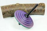 Kreisel Tukan aus Ahorn-/Eichenholz --Zweihandkreisel-- (3)