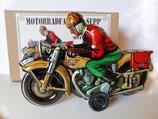 """Motorradfahrer """" Sepp """" (Modell früher Tippco Nürnberg) Marke JW  -Made in Germany-"""