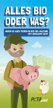 PETAKIDS-Flyer: Die Wahrheit über Bio-Produkte
