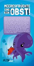 Flyer - Die Wahrheit über Meeresfrüchte