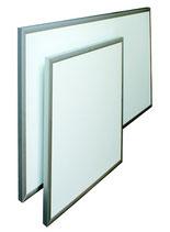 ECOSUN E Niedrigtemperatur-Strahlungsheizplatten mit Aluminiumrahmen