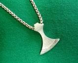 Kronen Axt Silber