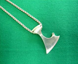 Helmdach Axt Silber