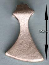 Schmal Axt Silber