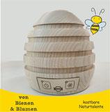 "Propolisverdampfer ""Breathe"" - Bienenkorb aus Holz"