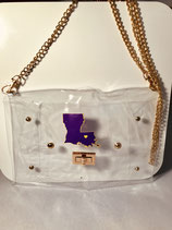 Clear LSU Purse