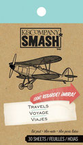 Smash Book Notizblock Travel
