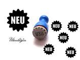 NEU - mini Stempel