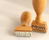 Moin - Motivstempel
