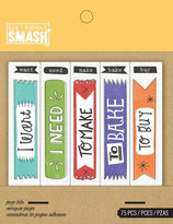 Smash Flag Tabs, Page Tabs, Bookmarker