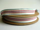 2 m Band Streifen, Deckchair rot