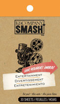 Smash Book Notizblock Entertainment