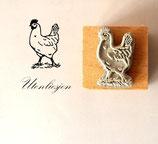 Motivstempel - Huhn