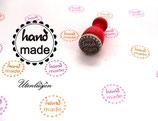 Hand made - Ministempel