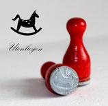 Schaukelpferd - Ministempel