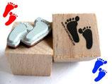Motivstempel - Fußspuren