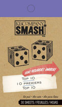 Smash Book Notizblock - Top 10