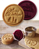 ★Merry Christmas ★ Keks-Stempel ø 7cm