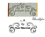 Motivstempel - Just married