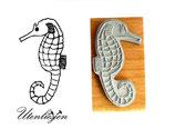 Seepferdchen Motivstempel